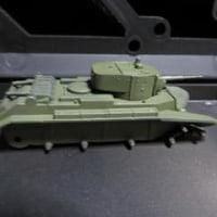 ペガサスのBT-7(1/72)を作る
