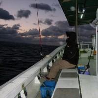 お初の船釣り