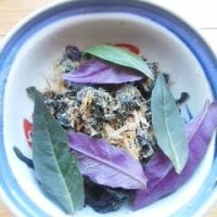 ハンダマ、金時草、水前寺菜…のおひたし、失敗の巻