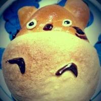 トトロのパンで大笑い。