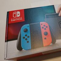 Nintendo Switchが届く
