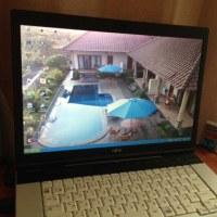 我が家のPCデスクトップ画像、バリ島リゾート!