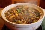 ESSEのレシピで黒ごま担々鍋@鎌倉七里ガ浜自宅厨房、そしてそのまま担々麺