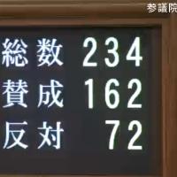 補正予算に加えて、改正地方交付税法が成立 第24期参議院、第192回国会15日目 [きょうの国会]