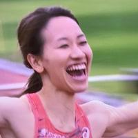 嬉しい福島千里さん日本新 200m