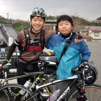 サイクリング二人