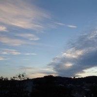 金沢の、今朝の日の出時間は午前6時ちょうど。日が短くなってきました。
