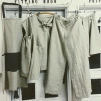 【蘭布】麻の服作ります#洋裁教室コースあり