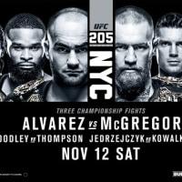 MMA UFC 205。