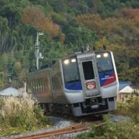 2016年12月5日   高徳線 讃岐相生  N2000系 うずしお 18号