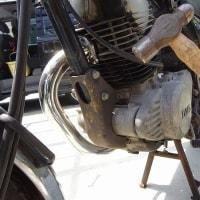 バイクのセルモーターの修理
