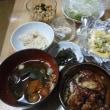 チキンのバルサミコ酢風味で夕ご飯