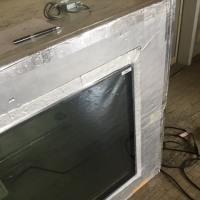 透明な多層断熱ガラス