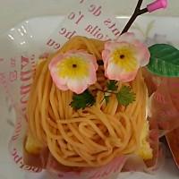 桜モンブラン(*^^*)