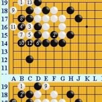 囲碁死活1022官子譜