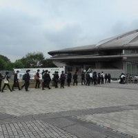 2016.6.30  東京体育館    視察!