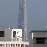 今朝の東京スカイツリー、2017/5/29