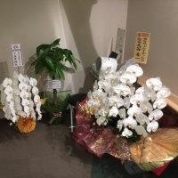 肝臓クリニック札幌の内覧会やってます お花もいっぱいありがとうございます