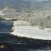 越後むらかみ三面川より寒中お見舞い申し上げます。