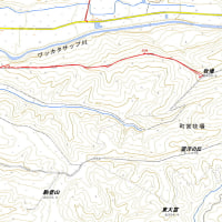 牧場(京極)のGPSトラック