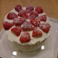 モントンでケーキ作り