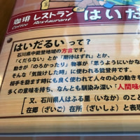 2/22 能登島水族館へ..喫茶レストラン はいだるいによるのは僕の定番