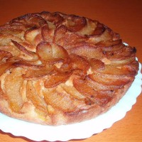 林檎のケーキ