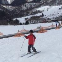 今年2回目のスキー