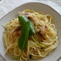 鶏ささみ&キャベツのイタリアンハーブソルトパスタ