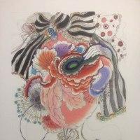 集治千晶 -Heartbeat- 銅版画、ガラス絵 展:10.8-22: