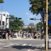 松本は観光客で大賑わい。