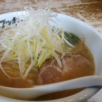 富里市 北海道ラーメン ロッキー秀の味噌ラーメン+白ねぎ