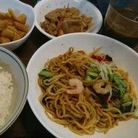 「今日のお昼ご飯」!!「日清「上海焼きそば」!!