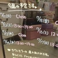 2016.7/11~7/17の予定☆