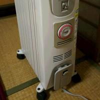 最新鋭暖房機が・・・。