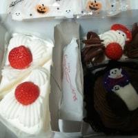 スポクラ、カランコエ(小花)、HHWケーキ