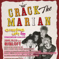 CRACK The MARIAN GROWING UP 2016 告知 2016年10月23日(日) @ 新宿LOFT