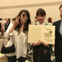 卒業おめでとう(^-^)