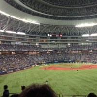 WBC開幕戦(写真は京セラ♪)