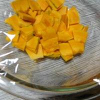 かぼちゃと塩昆布のヘルシー和サラダ☆