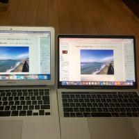 新MacBook Pro 13インチ 比較