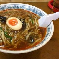 【店主のきまぐれメニュー】麻辣醤麺を頂きました。 at トーフラーメン 幸楊