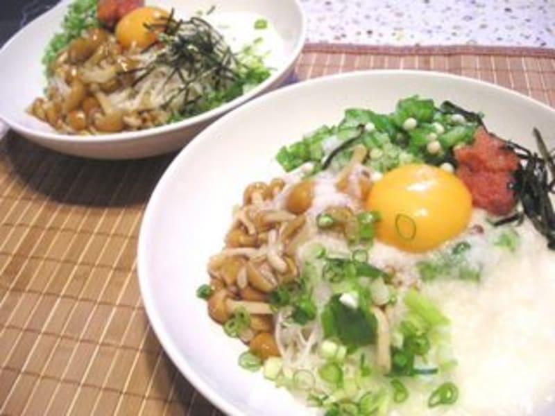 ネバトロぶっかけ素麺