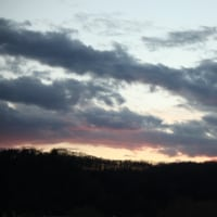 夕方の雲を撮る