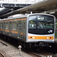 205系M64編成むさしの号大宮行@立川駅