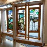 晴子さんのステンドグラス作品展