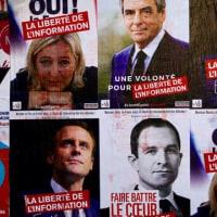 フランス大統領選は今日、4候補激戦の第1回投票が行われる。