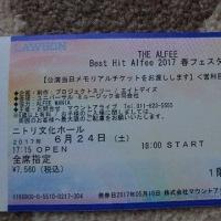 チケットきた~^m^