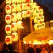 祇園祭宵々山(7/22)雨上がりの山鉾町にお囃子