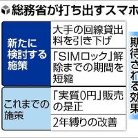 ますます格安SIMお得に(*^^)v 総務省が通信回線の貸出料を引き下げる方針を発表!